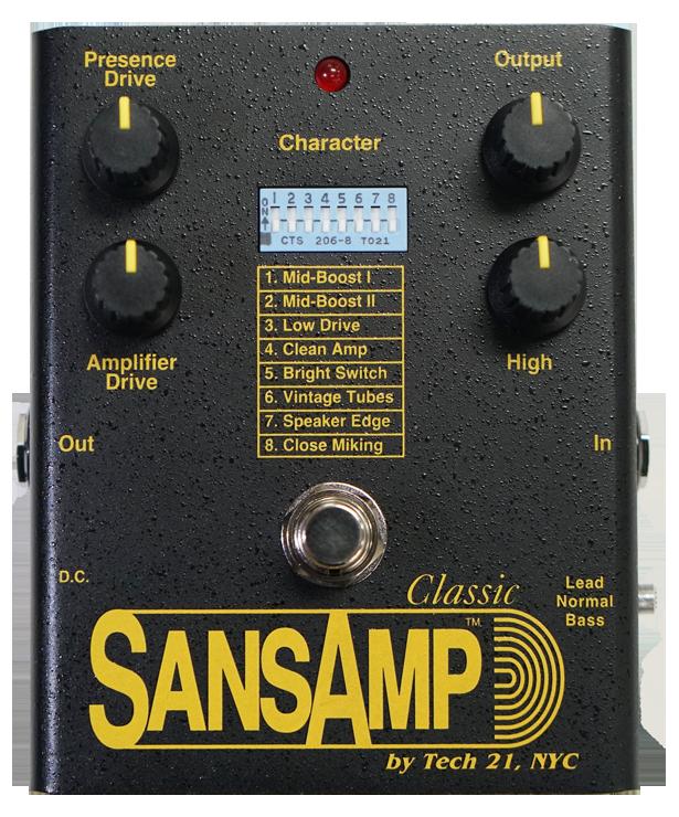2021年、SansAmp Classicが復活!