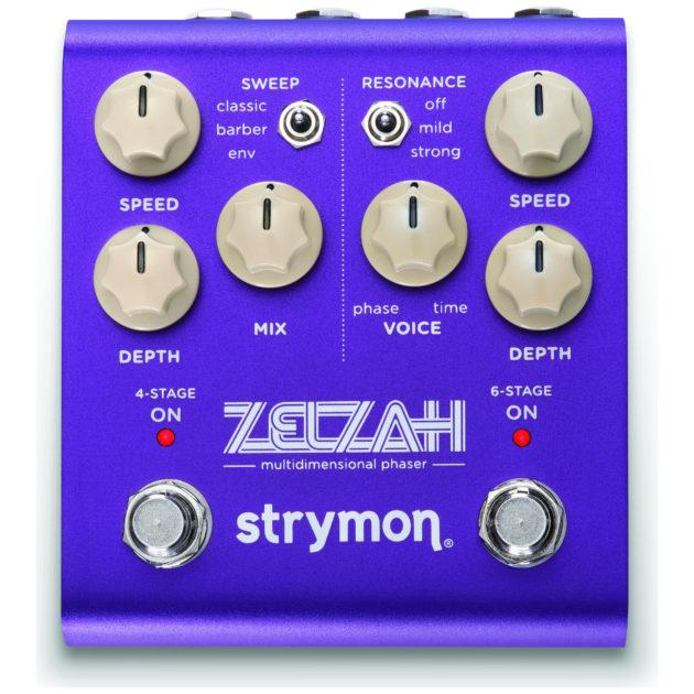 Strymonから新たなフェイザーペダル「ZELZAH」発売!